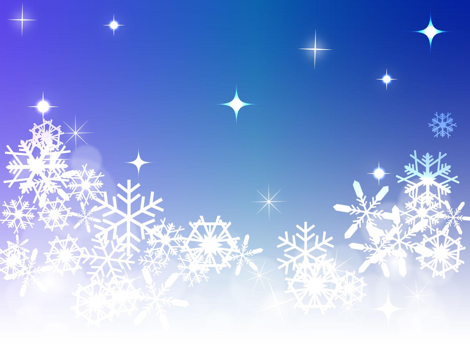 雪の結晶のイラスト・背景やフレームもあり | 画像屋さん